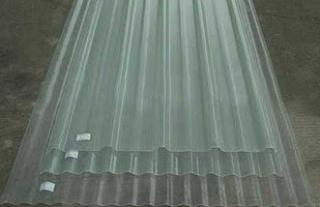 Atap spandek transparan