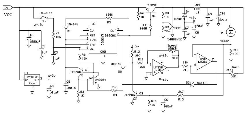 ac motor speed picture ac motor schematic