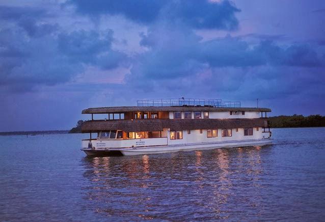 Oberoi Vrinda Cruise, Kerala