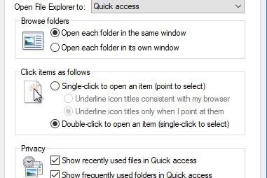 Cara Menghilangkan File Quick Access di Windows 10