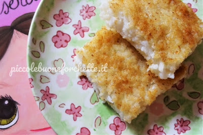 foto ricetta torta di riso senza uova e latticini per bambini