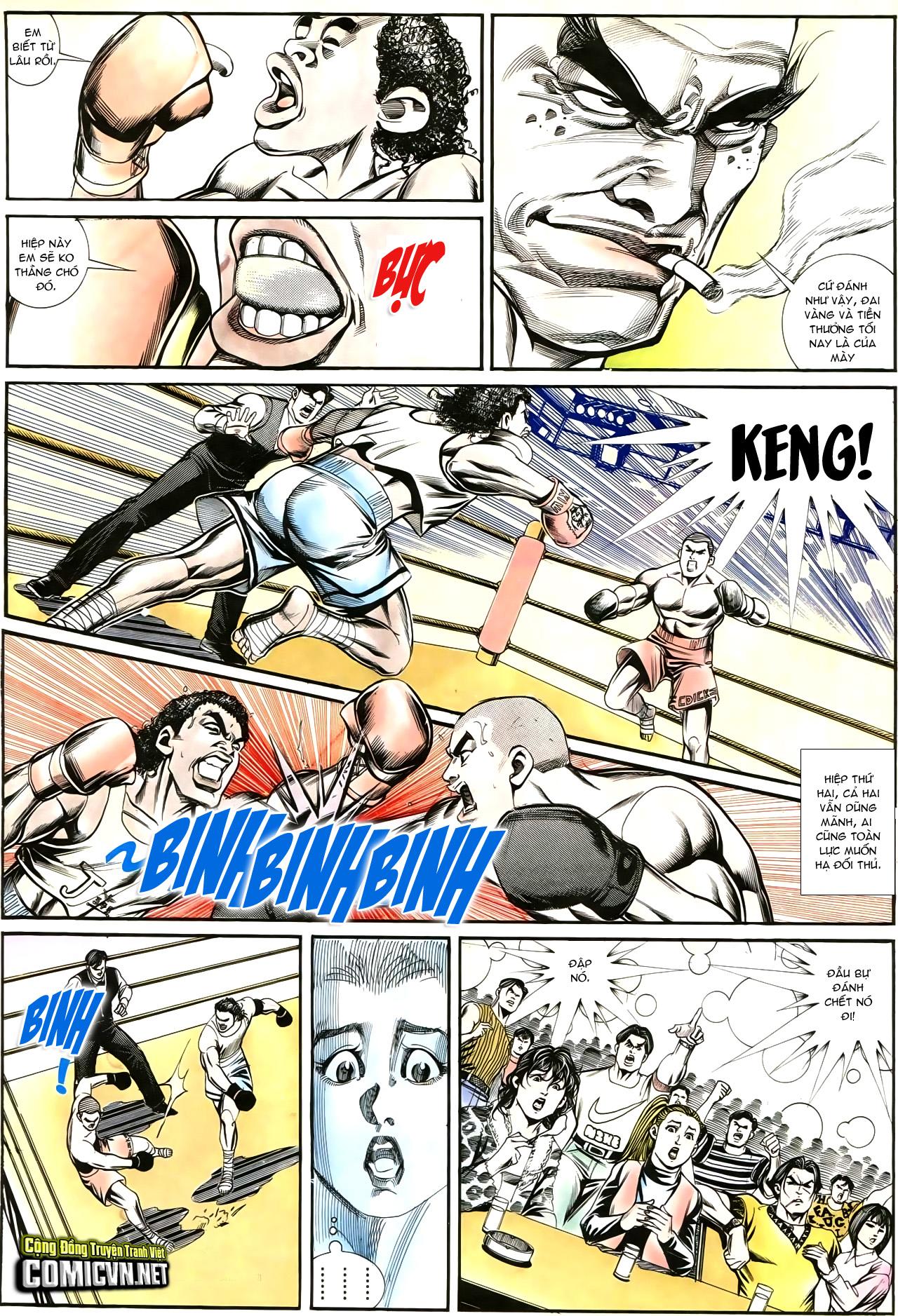 Người Trong Giang Hồ chapter 195: sóng gió ngút trời trang 10