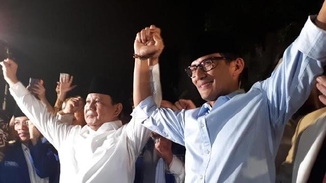 PSI Sebut Mesin Politik Prabowo-Sandi Mangkrak, Gerindra: Mereka Panik Akut