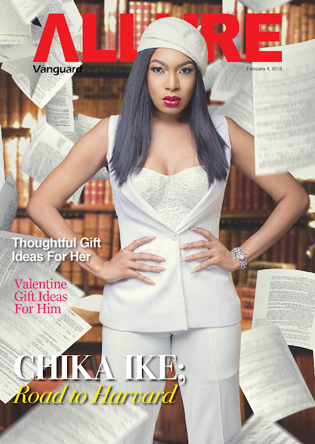 Chika Ike conquers the Harvard Dream... And shines on the Cover of Vanguard Allure