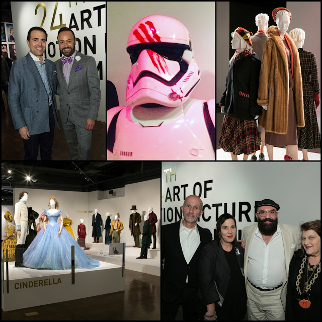 FIDM MUSEUM.....Opening Night Party 24th Art of Motion Picture Costume Design Exhibition: BLOG RECAP!