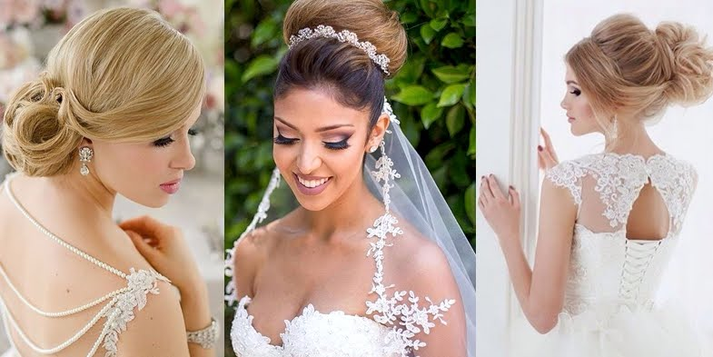 Amazing Romantic And Elegant Bridal Hairstyles Hairstyles For Men Maxibearus
