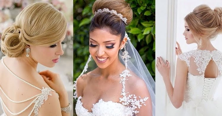 Romantic And Elegant Bridal Hairstyles