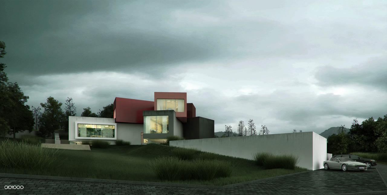 Casa c de abiboo architecture arquitectura y dise o for Arquitectura y diseno de casas