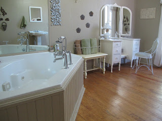 bathroom with tub in the Wildrose
