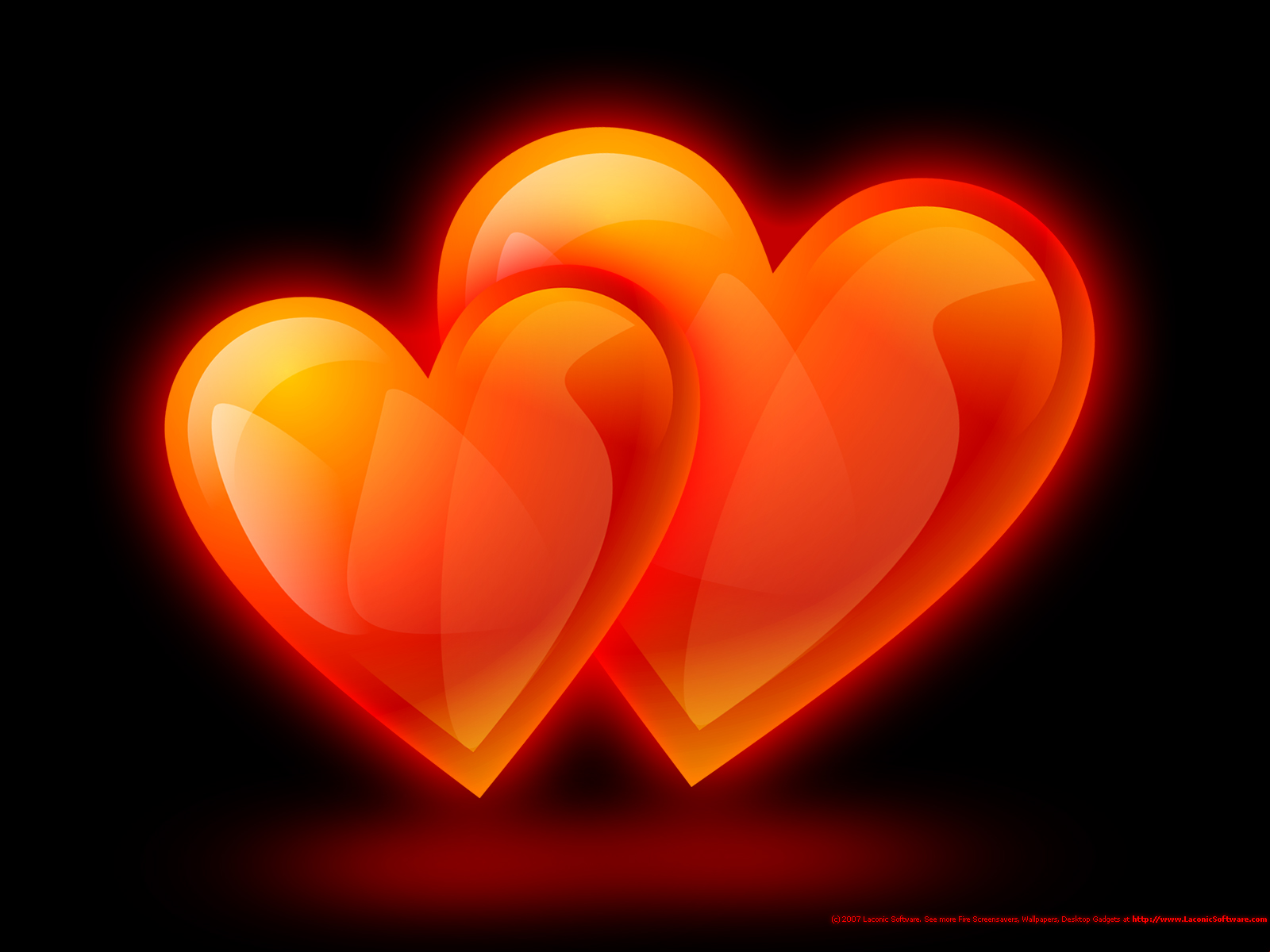 Cool HD Nature Desktop Wallpapers: Hearts Wallpapers