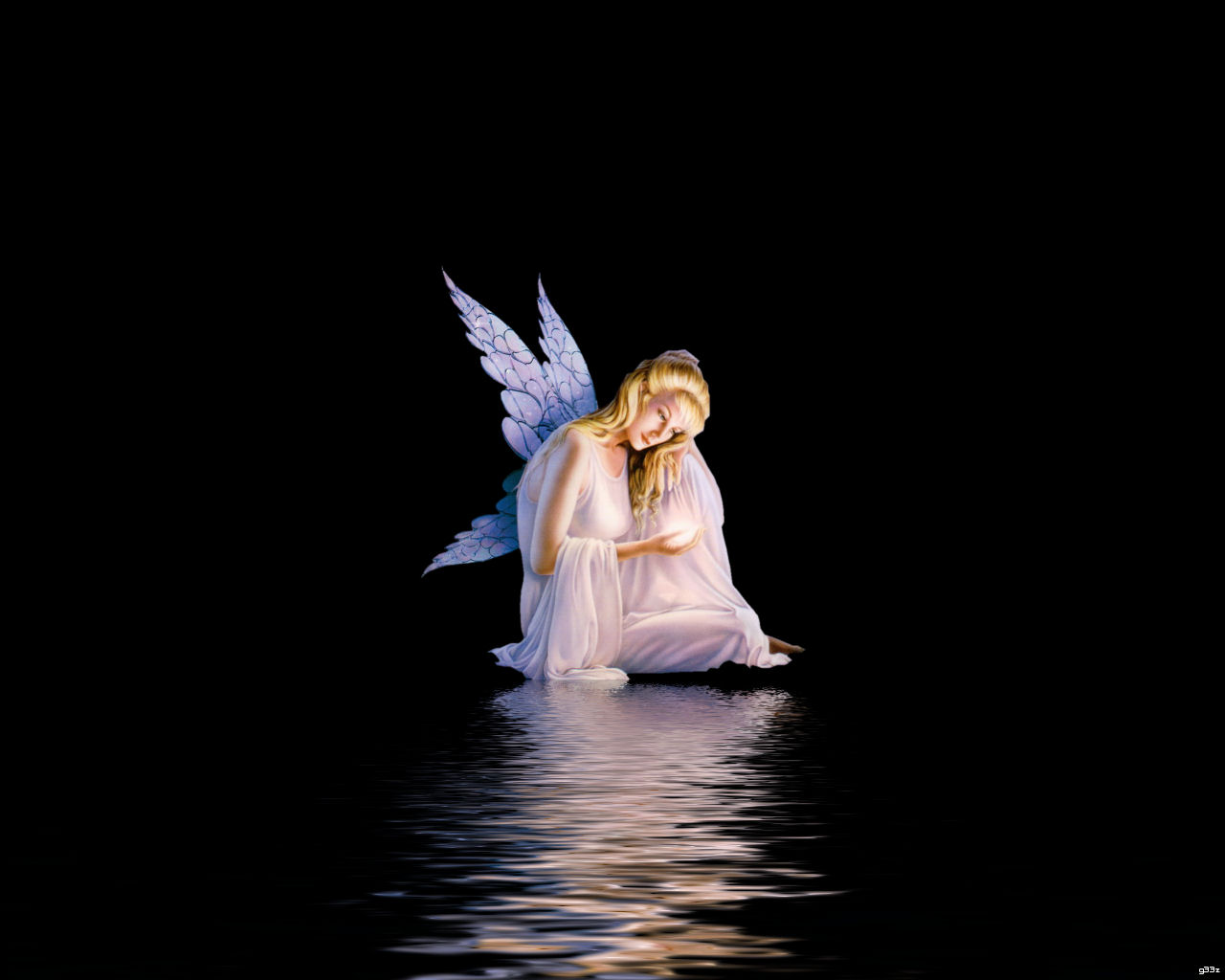 wallpaper: Wallpaper Of A Angel