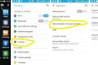 3 CARA BERBAGI INTERNET SMARTPHONE