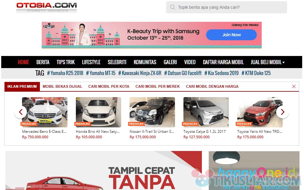 Situs Jual Beli Mobil Bekas Terbaik di Indonesia