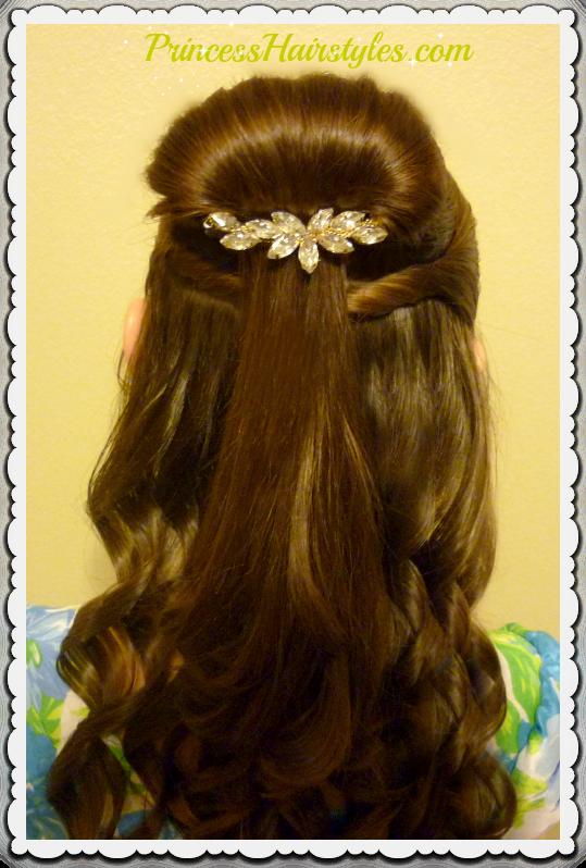 Disney Beauty /& The Beast hair accessories