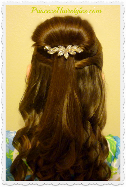 belle hairstyle tutorial beauty