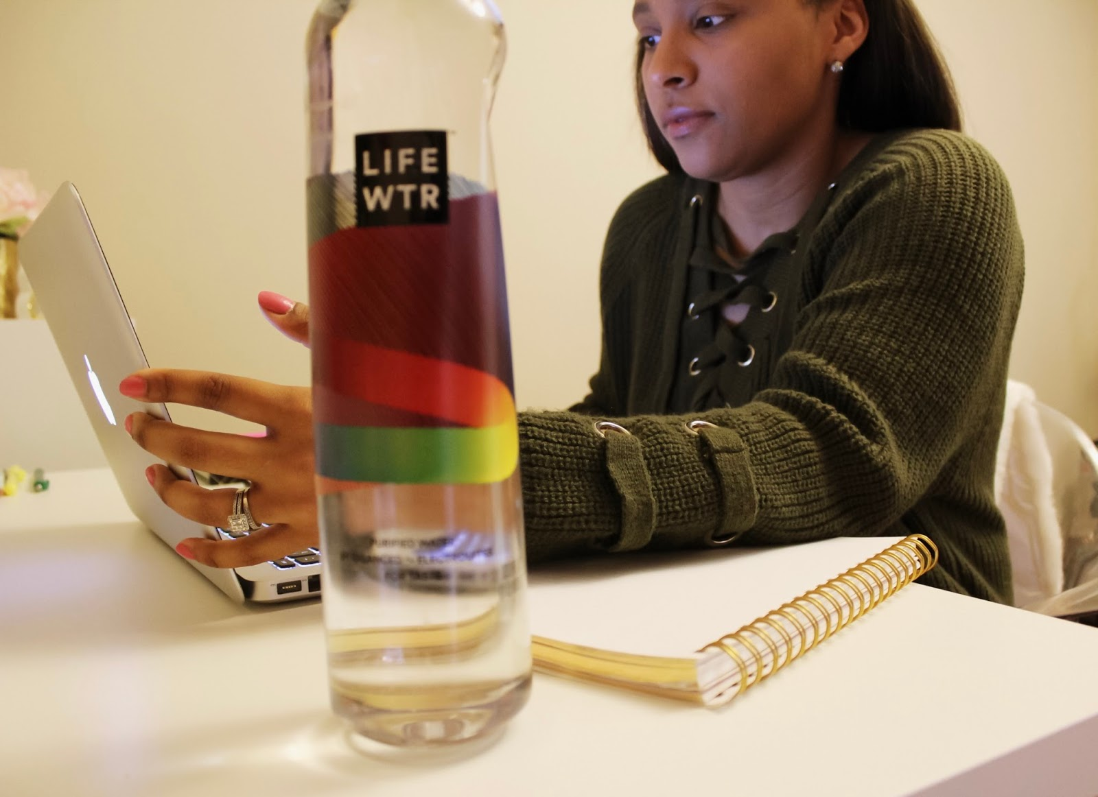 LIFEWTR, 7-eleve, drinks, water, thirsty, lifestyle, purified water, working from home, how to stay motivated