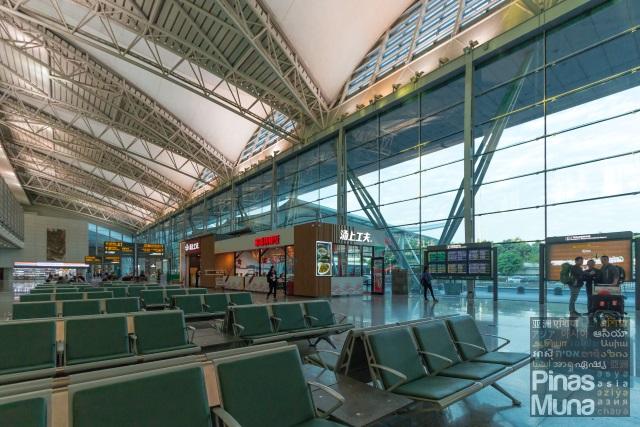 Domestic Arrival area of Guangzhou Baiyun International Airport