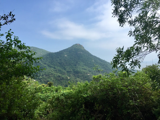 Countryside hill views on the Lantau Trail from Mui Wo to Pui O, Hong Kong