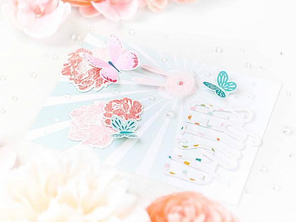 Easter Hugs - Pinkfresh Studio + Papertrey Ink | Using Up Scraps