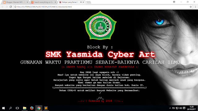 Download Script Deface Milik ./Maniak_WiFi - Pringsewu Cyber Team