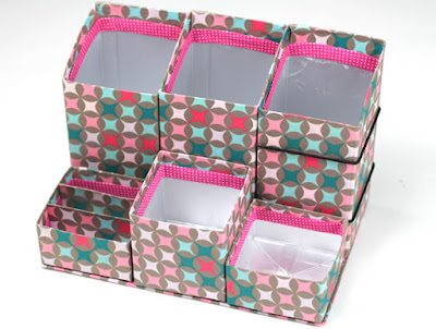 ideia artesanato reciclar reciclagem reciclando diy caixa leite caixinha sustentabilidade porta treco lapis