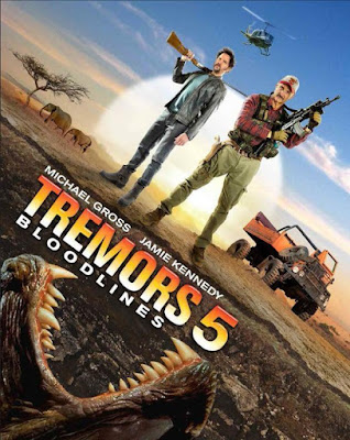 Tremors 5: Bloodline 2015 DVD R4 Latino