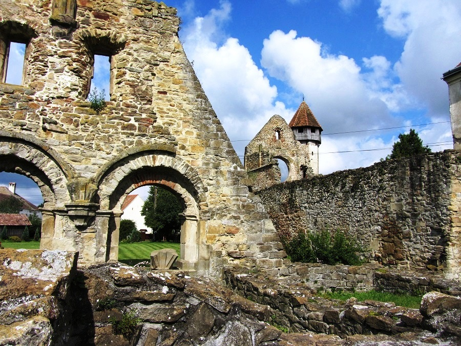 """The Abbey of St. Carta, Romania - A Haunted Abbey on which the Horror Movie """"The Nun"""" is based on"""