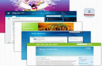 alamat website yang menyediakan template blog gratis