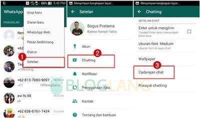 backup chat whatsapp