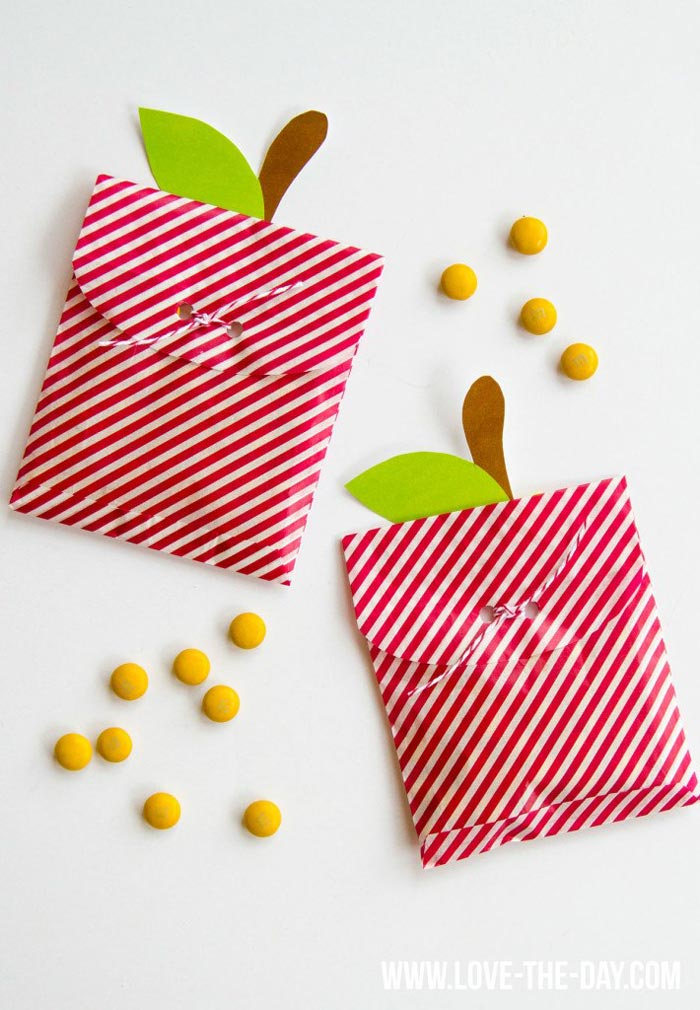 Apple Treat Bags