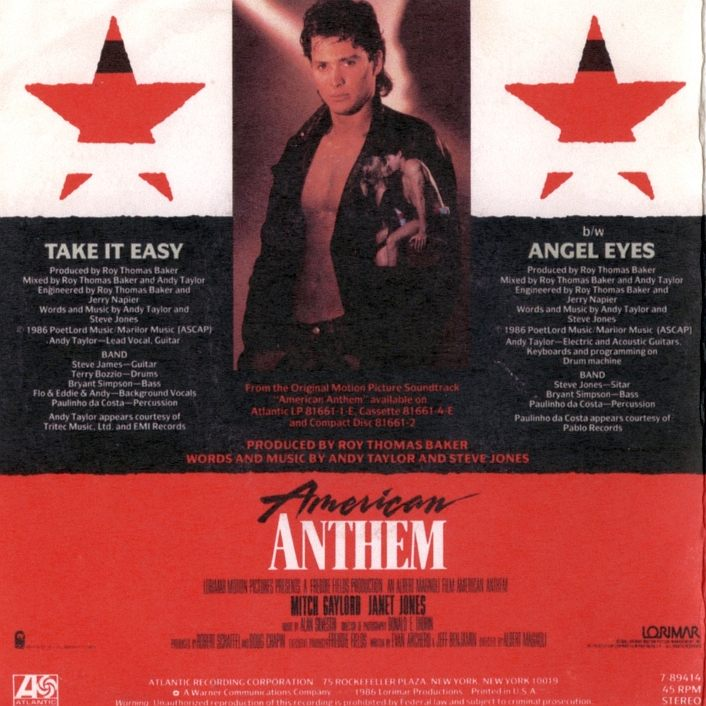 ANDY TAYLOR - The Complete Non-Album Recordings - back