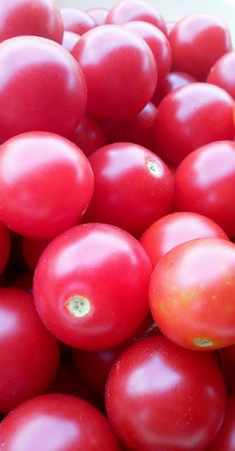 Sweet Cherry Tomatoes #summer #garden #food