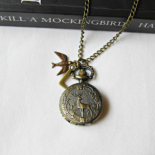 two cheeky monkeys pocketwatch necklace pocket watch to kill a mockingbird atticus finch