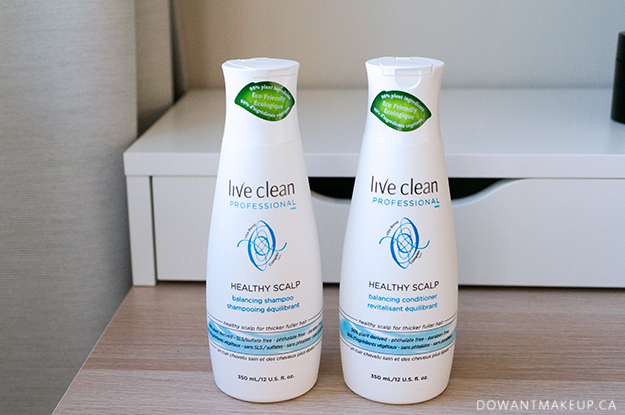 Live Clean Healthy Scalp Balancing Shampoo Conditioner review and ingredients list