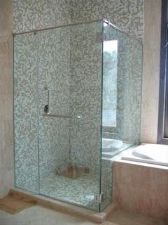 Jual Kaca Shower Penyekat Kamar Mandi Minimalis Pamekasan