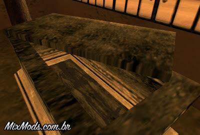 restos mortais no cemitério mod gta