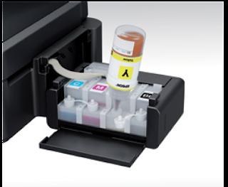 Isi ulang tinta Langsung ke tabung Printer Epson L220