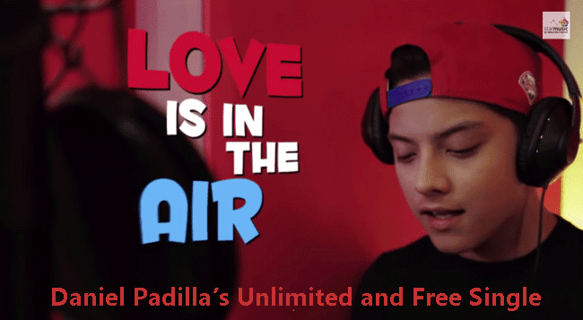 Daniel Padilla's Unlimited and Free Single
