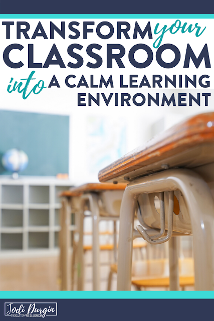 There are so many benefits of decluttering your classroom.  This blog post will motivate you and other elementary teachers to purge your things and make a big change.  Capture some inspiration so you can start your journey towards a clutter-free classroom today! #classroomorganization #clutterfreeclassroom #declutter