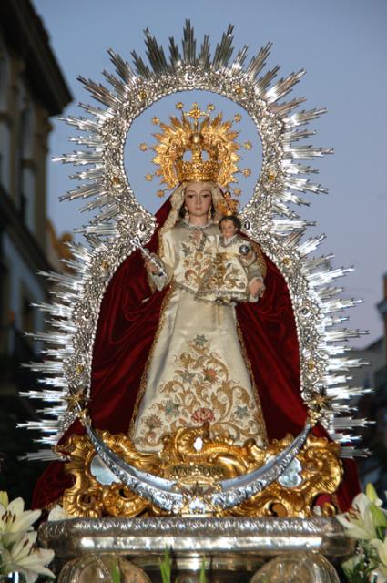 Horario e Itinerario de la Salida procesional de la Virgen del Prado este sábado en Sevilla