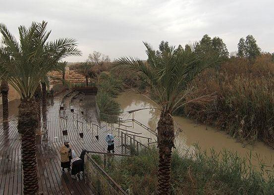 Qasr Al Yahud el lugar donde Jesús fue bautizado