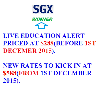 FINAL CALL - FOR OUR LIVE EDUCATION ALERT