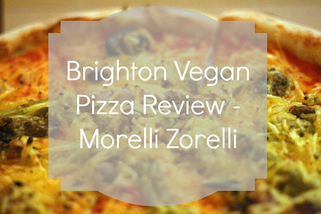 Brighton Vegan Pizza review Morelli Zorelli