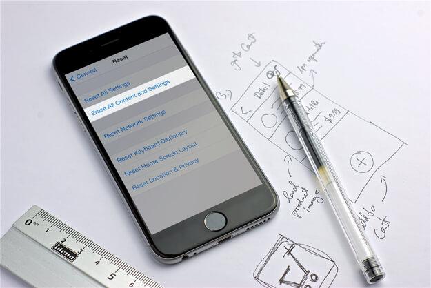 Mengembalikan iPhone ke Pengaturan Pabrik