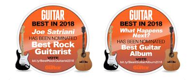 Vote for Joe Satriani - Neal Schon