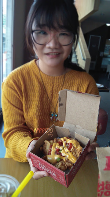 kfc mini chizza,menu baru kfc,kfc, chizza,food blogger,foodie,chippeido
