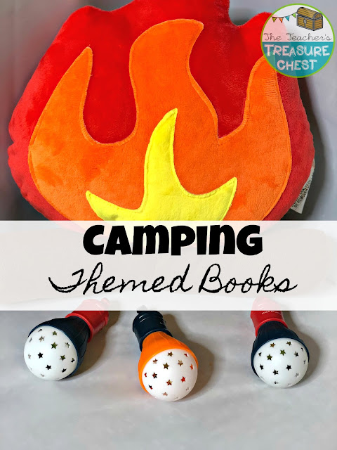Camping Themed Books
