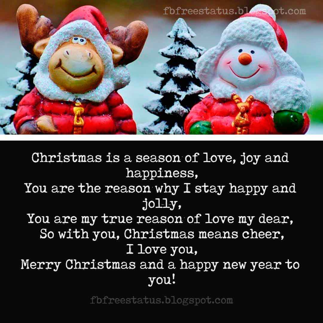 Merry Christmas Love Quotes and Wishes