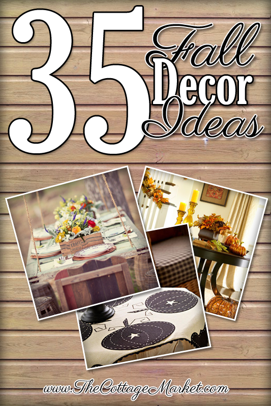 Try out these decor ideas for fall to get festive today.