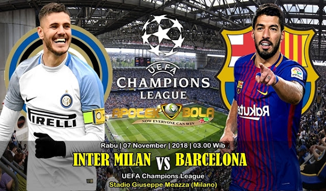Prediksi Inter Vs Barcelona 07 November 2018